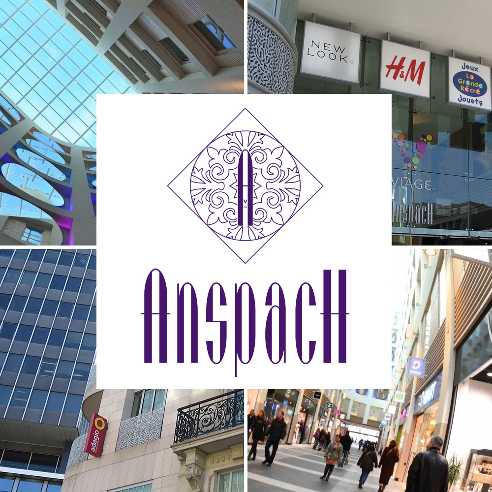 Anspach Shopping – Social Media
